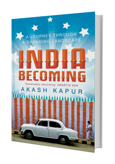 India Becoming Book Cover